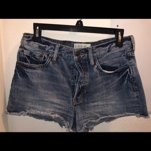 Free People Cut-Off Jean Shorts
